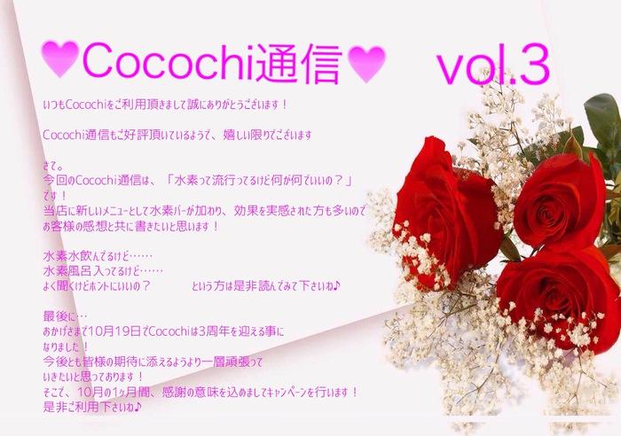 Cocochi通信vol.3