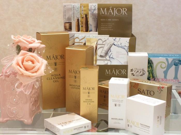 基礎化粧品を選ぶ